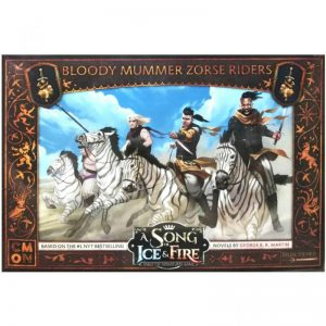 Cool Mini or Not A Song of Ice and Fire  Neutral A Song of Ice and Fire: Bloody Mummer Zorse Riders - CMNSIF509 - 889696010155