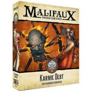 Wyrd Malifaux  Ten Thunders Kharmic Debt - WYR23732 - 812152032316