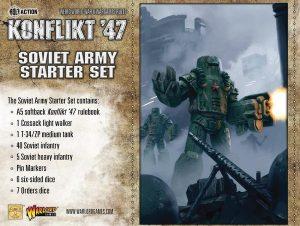 Warlord Games Konflikt '47  SALE! Soviet K47 Starter Set - 451510801 - 5060393704720