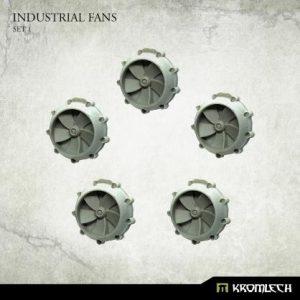 Kromlech   Misc / Weapons Conversion Parts Industrial Fans Set 1 (5) - KRBK042 - 5902216119253