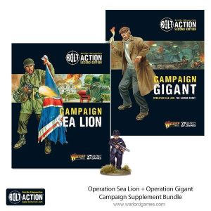 Warlord Games Bolt Action  Bolt Action Books & Accessories Operation Sealion and Gigant bundle - 409910051 -