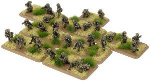 Battlefront Team Yankee  British British Mechanised Platoon - TBR702 - 9420020231603