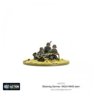 Warlord Games Bolt Action  Germany (BA) Blitzkrieg German MG34 MMG Team (1939-42) - 403012015 - 5060572501614