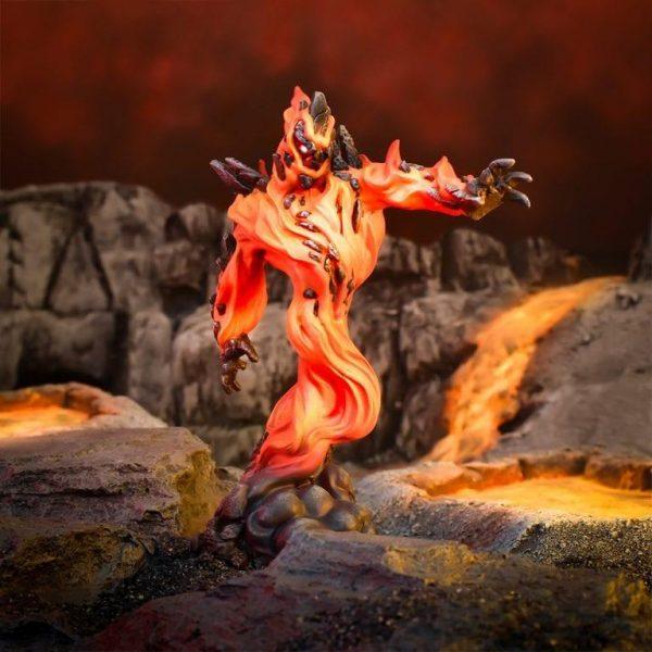 Mantic Kings of War  Salamanders (KoW) Greater Fire Elemental - MGKWS401 - 5060469662039