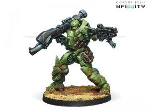 Corvus Belli Infinity  Haqqislam Heavy Assault Regiment Al Fasid (Heavy RL) - 280485-0620 - 2804850006209