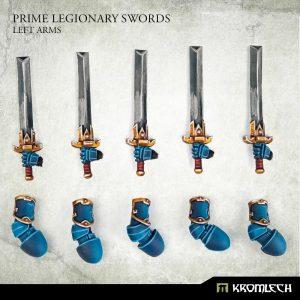 Kromlech   Legionary Conversion Parts Prime Legionaries CCW Arms: Swords (left arms) - KRCB272 - 5908291070946