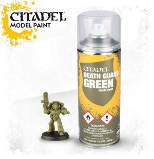 Games Workshop   Spray Paint GW Spray: Death Guard Green - 99209999070 - 5011921154524