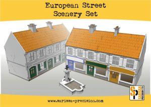 Warlord Games   Sarissa Precision European Street Scenery Set - N151 - 5060572504318