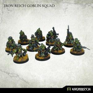 Kromlech   Orc Model Kits Iron Reich Goblin Squad (10) - KRM079 - 5902216113206