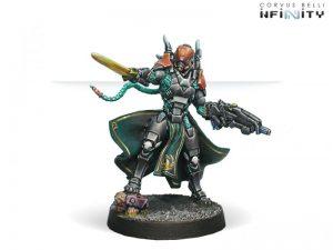 Corvus Belli Infinity  Yu Jing Yu Jing Imperial Agents, Crane Rank - 280352-0325 - 2803520003258