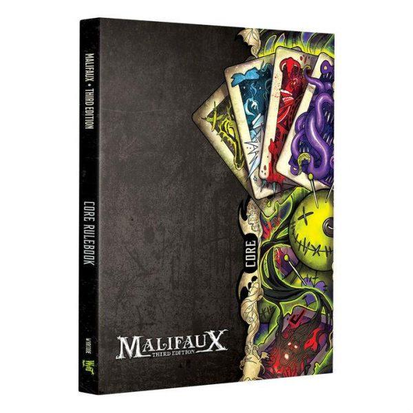 Wyrd Malifaux  Malifaux Essentials Malifaux Core Rulebook - M3e 3rd Edition - WYR23001 - 9780997130485
