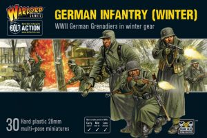 Warlord Games Bolt Action  Germany (BA) German Infantry (Winter) - 402012027 - 5060572500235