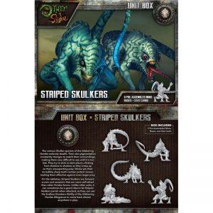 Wyrd The Other Side  Gibbering Hordes Striped Skulkers - WYR40212 - 812152030404
