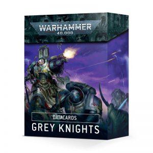 Games Workshop Warhammer 40,000  Grey Knights Datacards: Grey Knights (2021) - 60050107001 - 5011921134335