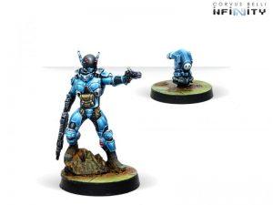 Corvus Belli Infinity  PanOceania Echo-Bravo, Fast Intervention Unit (Paramedic) - 281207-0759 - 2812070007593