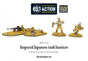 Warlord Games Bolt Action  Japan (BA) Imperial Japanese tank hunters - WGB-JI-28 - 5060200845394