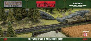 Gale Force Nine   Battlefield in a Box Flames of War: Train Tracks - BB135 -