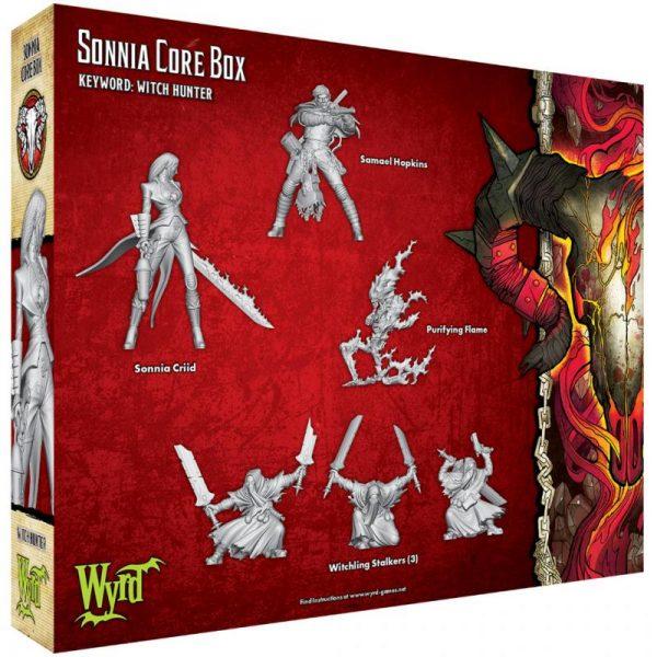 Wyrd Malifaux  Guild Sonnia Core Box - WYR23108 - 812152030749