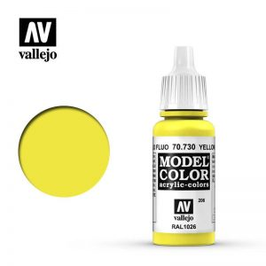 Vallejo   Model Colour Model Color: Fluorescent Yellow - VAL730 - 8429551707305