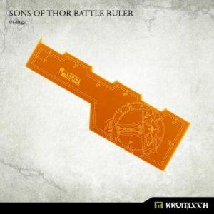 Kromlech   Tapes & Measuring Sticks Sons of Thor Battle Ruler [orange] (1) - KRGA029 - 5902216114234