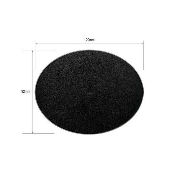 Games Workshop (Direct)   Plain Bases Citadel 120x92mm Oval Base - 99229999082 - 5011921012169