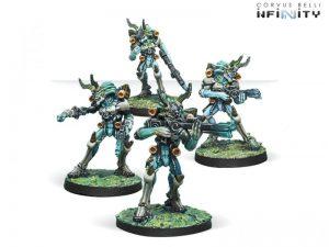 Corvus Belli Infinity  Tohaa Tohaa Kaauri Sentinels Box Set - 280935-0748 - 2809350007480