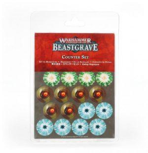 Games Workshop Warhammer Underworlds  Warhammer Underworlds Warhammer Underworlds: Beastgrave Counter Set - 99220799014 - 5011921128013
