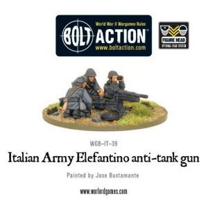 Warlord Games Bolt Action  Italy (BA) Italian Army 47mm Elefantino anti-tank gun - WGB-II-39 -