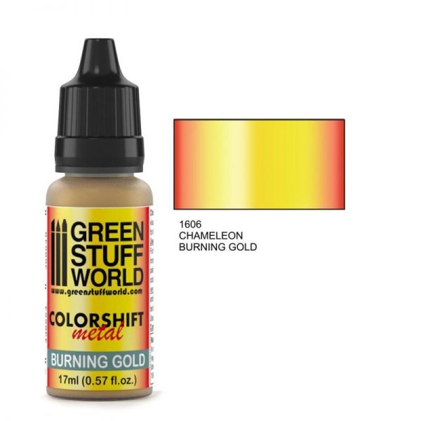 Green Stuff World   Chameleon Paints Chameleon BURNING GOLD - 8436554368648ES - 8436554368648