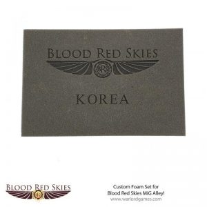 Warlord Games (Direct) Blood Red Skies  Blood Red Skies Blood Red Skies: Custom Foam Set for MiG Alley! - migboxfoam001 -