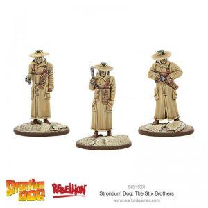 Warlord Games Strontium Dog  Strontium Dog Strontium Dog: The Stix Brothers - 642215003 - 5060572500754