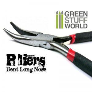 Green Stuff World   Green Stuff World Tools Bent Long Nose Plier - 8436554360628ES - 8436554360628