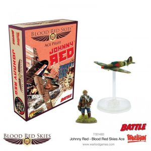 Warlord Games Blood Red Skies  Blood Red Skies Blood Red Skies: Johnny Red - Ace - 772014003 - 5060572501829