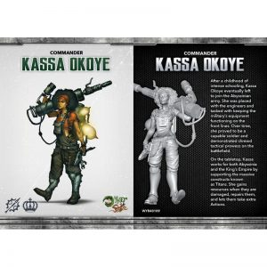 Wyrd The Other Side  Abyssinia Kassa Okoye - WYR40109 - 812152030121