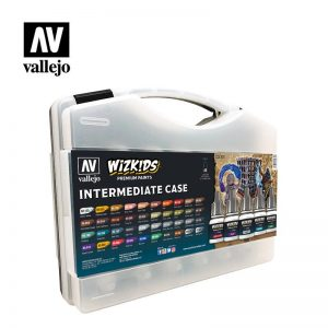 Vallejo   Paint Sets AV Vallejo Wizkids - Intermediate Case - VAL80261 - 8429551802611