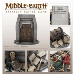 Games Workshop (Direct) Middle-earth Strategy Battle Game  Middle-Earth Scenery Lord of The Rings: Mines of Moria - 99081499001 - 5011921145935