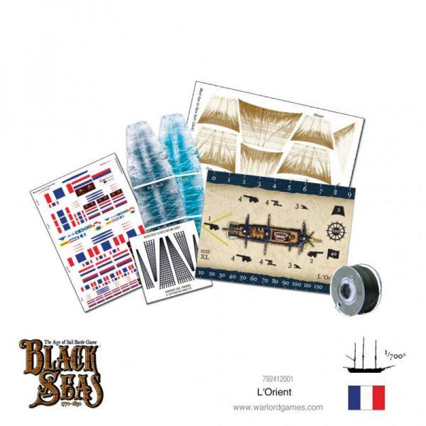 Warlord Games Black Seas  Black Seas Black Seas: L'Orient - 792412001 - 5060572505438