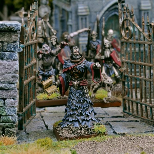Mantic Kings of War  Undead Undead Necromancer - MGKWU102 - 5060208868340