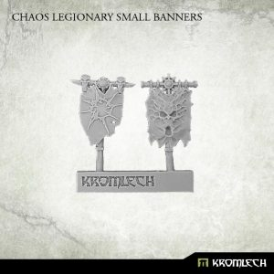 Kromlech   Heretic Legionary Conversion Parts Chaos Legionary Small Banners (2) - KRCB175 - 5902216115019