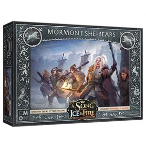 Cool Mini or Not A Song of Ice and Fire  Night's Watch A Song Of Ice and Fire: Stark Mormont She-Bears - CMNSIF111 -