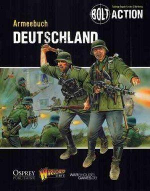 Warlord Games Bolt Action  Germany (BA) Armeebuch Deutschland - WG-BA-DE-002 - TBA