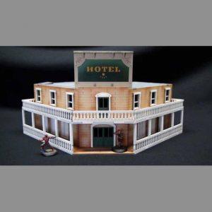 TTCombat   Wild West Scenics (28-32mm) Grand Hotel - WWS007 -