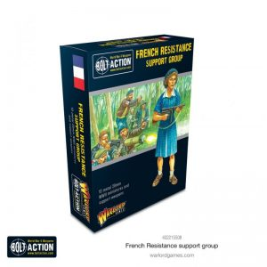 Warlord Games Bolt Action  France (BA) French Resistance Support Group - 402215508 - 5060572507210
