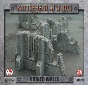 Gale Force Nine   Battlefield in a Box Battlefield in a Box: Ruined Walls - BB519 - 9420020213173