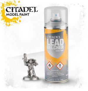 Games Workshop   Spray Paint GW Spray: Leadbelcher - 99209999067 - 5011921154494