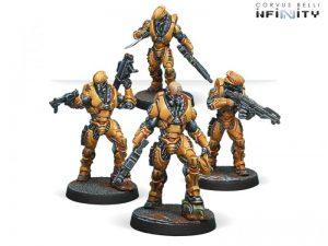 Corvus Belli Infinity  Yu Jing Wu Ming Assault Corps - 280385-0594 - 2803850005946