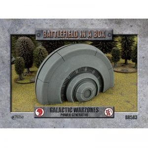 Gale Force Nine   Battlefield in a Box Galactic Warzones: Power Generator - BB583 - 9420020241176