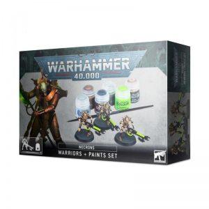Games Workshop Warhammer 40,000  Paint Sets Necron Warriors + Paint Set - 99170110003 - 5011921144617