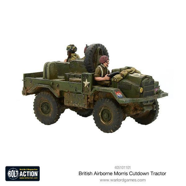 Warlord Games Bolt Action  Great Britain (BA) British Airborne Cut Down Moris - 405101101 - 5060393709428