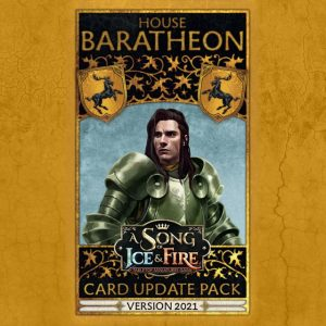 Cool Mini or Not A Song of Ice and Fire  House Baratheon A Song Of Ice and Fire: Baratheon Faction Pack - CMNSIFFP8 -
